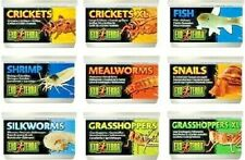 Exo Terra Canned Reptile Food - Preserved Insects In-A-Can Pet Specialty Diet