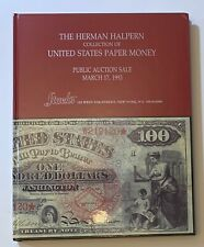 New ListingHardbound Herman Halpern Paper Money Collection auction catalog Stack's 3/1993