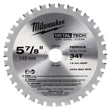 Milwaukee 48-40-4080 5-7/8-Inch 34-Tooth Ferrous Metal Circular Saw Blade