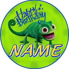 LIZARD GECKO BADGE CHILDRENS PERSONALISED BIRTHDAY BADGE PARTY