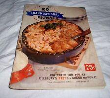 100 GRAND NATIONAL RECIPES 1957 PILLSBURY'S 8TH NATIONAL RECIPES