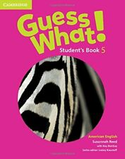 Guess What! American English Level 5 Student's Book, Reed, Susannah, Very Good c
