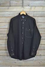 "Vintage Lee Black ""Fosterdale"" Shirt (L)"