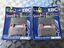 2x EBC FA 265 HH Pastillas Freno HONDA CBR 600 F4, Sport, PC35, 900 , SC44, SC50