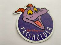 WDW Walt Disney World Annual Passholder Car Magnet Figment Head