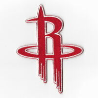 NBA Houston Rockets Iron on Patches Embroidered Badge Patch Applique Sew Emblem
