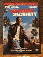 National Security (DVD) Disc Near Mint Martin Lawrence Steve Zahn