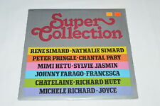 SUPER COLLECTION LP 1981 NEW SEALED Compilation Quebec Rene Nathalie Simard Pary