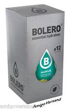 Bolero DRINKS - Multivitamin - 12 Beutel für 18-36 Liter Erfrischungs-Getränk