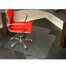 """New Hot 1.5mm Thick 48"""" x 36"""" PVC Home Use Chair Floor Mat with Lip for Tile"""