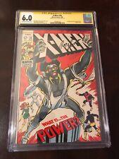 The X-Men #56 (May 1969, Marvel) CGC 6.0 1st App living monolith-Roy Thomas sig