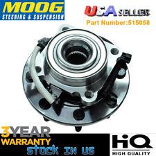 MOOG Chevy Silverado 2500 HD GMC Sierra Front Wheel Bearing & Hub assy 8Lug 4x4