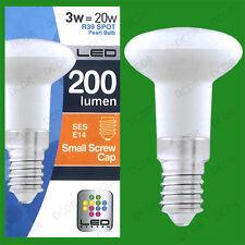 2x 3W (=20W) R39 LED Spot Light Bulbs Pearl Lamps SES E14 Top Quality Low Energy