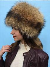 13d30ee3faa Raccoon Fur Full Hat Adjustable Saga Furs All Fur Hat