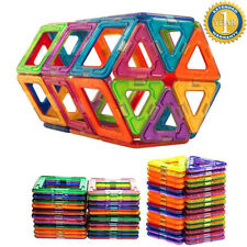 50Pcs All Magnetic Building Blocks Children Toys Educational Enlighten Puzzles