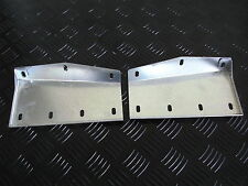 LAND ROVER Discovery 1 Galvanized Front Mud Flap Brackets PAIR