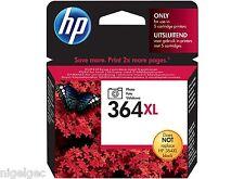 HP 364XL PHOTO BLACK INK CB322EE HP364 C5380 C6380