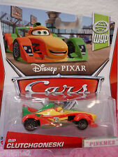 ✿HTF 2013 Disney Pixar Cars 8/17 RIP CLUTCHGONESKI✿WGP World Grand Prix