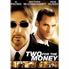 TWO FOR THE MONEY ALL PACINO WIDESCREEN MOVIE  IN ORIGINAL CASE DVD