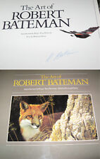 The Art of Robert Bateman SIGNED AUTOGRAPHED hardcoverW Ramsay Derry MINT hard