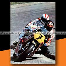 ★ BARRY SHEENE sur SUZUKI ★ 1978 Mini-Poster Pilote Moto / Photo #MP188