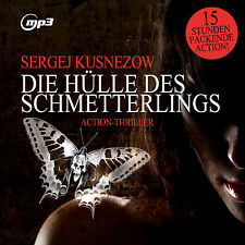 CD Sergej Kuznetsov The Cover Of The Butterfly, Thriller. Mp3 Version 2CDs 15Std
