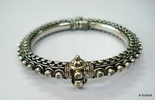 Sterling Silver Bangle Bracelet Handmade Jewelry cubic zirconia gemstone