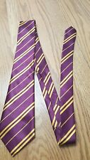Harry Potter Hogwarts Gold Maroon Stripe Tie Rubie's Costume Halloween Dress-Up
