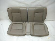 2001 ACURA INTEGRA LS/GS COUPE A/T REAR SEAT SET TAN LEATHER OEM 1998 1999 2000