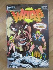 WARP #3 FIRST COMICS FINE/VERY FINE (W14)