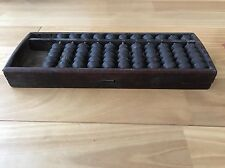RERA Japanese vintage SOROBAN Abacus Wooden EDO ASIAN SAMURAI [Exe] From Japan