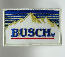 """Vintage Patch - Busch Beer - Mountains Logo - Embroidered - 4"""" - Collectible"""