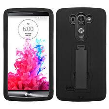 MYBAT Symbiosis Stand Protector Cover (Black) for LG G3 Vigor
