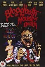 BLOODBATH AT THE HOUSE OF DEATH NEW REGION 2 DVD