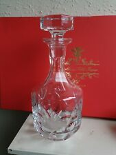 Excellent Cut Glass Crystal Decanter Excellent Condition