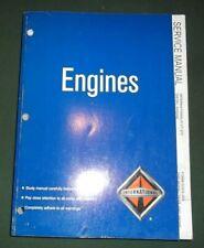 INTERNATIONAL VT-275 DIESEL ENGINE SERVICE SHOP REPAIR WORKSHOP MANUAL EGES-300
