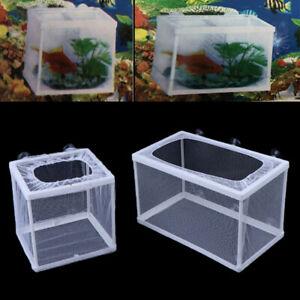Fish Breeding Incubator Net Hanging Fish Hatchery Isolation Box for Aquarium