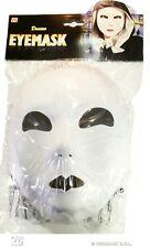 MASCHERA BIANCA NEUTRA in cartoncino e tessuto - Domino Eyemask Widmann 6475A