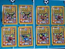 Merlin's Premier League 98  -X 8 Unopened Sticker Packets (Very Rare)