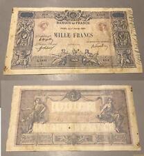 1000 Francs Bleu et Rose Type 1889  - 17/2/1920 L.1431 TB