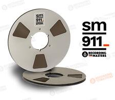 """Rtm Reel To Reel Tape Sm911 1/4"""" x 2500' on Metal Reel W/Box Free Shipping!"""