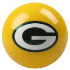 GREEN BAY PACKERS NFL YELLOW BILLIARD GAME POOL TABLE REPLACEMENT CUE 8 BALL