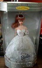 1996 New Mattel Wedding Day Repr. of 1961 Collector Ed. Barbie Doll Red Hair