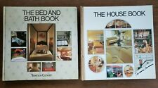 Bed and Bath Book and House Book Lot of 2 Terence Conran Vintage 1970s Hardcover