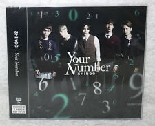 SHINee Your Number 2015 Taiwan Ltd CD+DVD+16P+Sticker jacket [Japanese Lan]