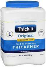 Thick-It 2 Concentrated Instant Food & Beverage Thickener 36 oz J587 Exp 10/22