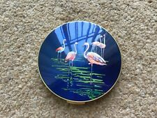 Stratton Vintage Powder Compact Flamingo Design.
