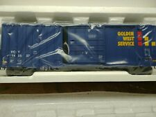 MTH ITEM NO. 20-90417F GOLDEN WEST SERVICES 50' HIGH CUBE BOX CAR