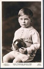 BEAGLES RP POSTCARD HRH PRINCESS MARY'S SON HUBERT LASCELLES C1928