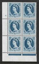 1/6 Wilding Violet Phos 9.5mm cyl 8 Dot perf type F(L) UNMOUNTED MINT